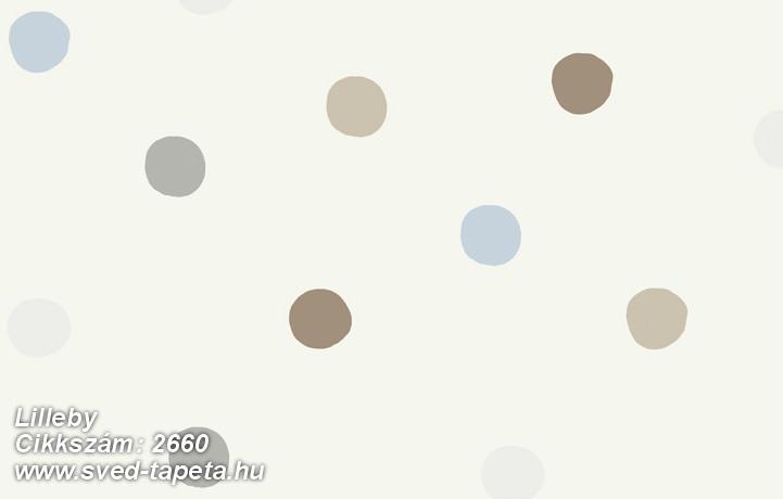 Lilleby 2660 cikkszámú svéd Borasgyártmányú designtapéta