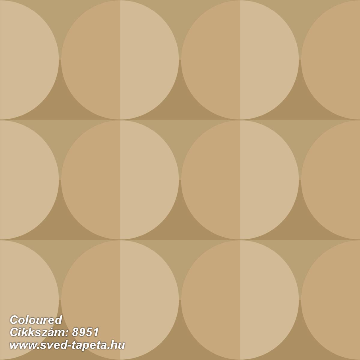 Coloured 8951 cikkszámú svéd ECOgyártmányú designtapéta