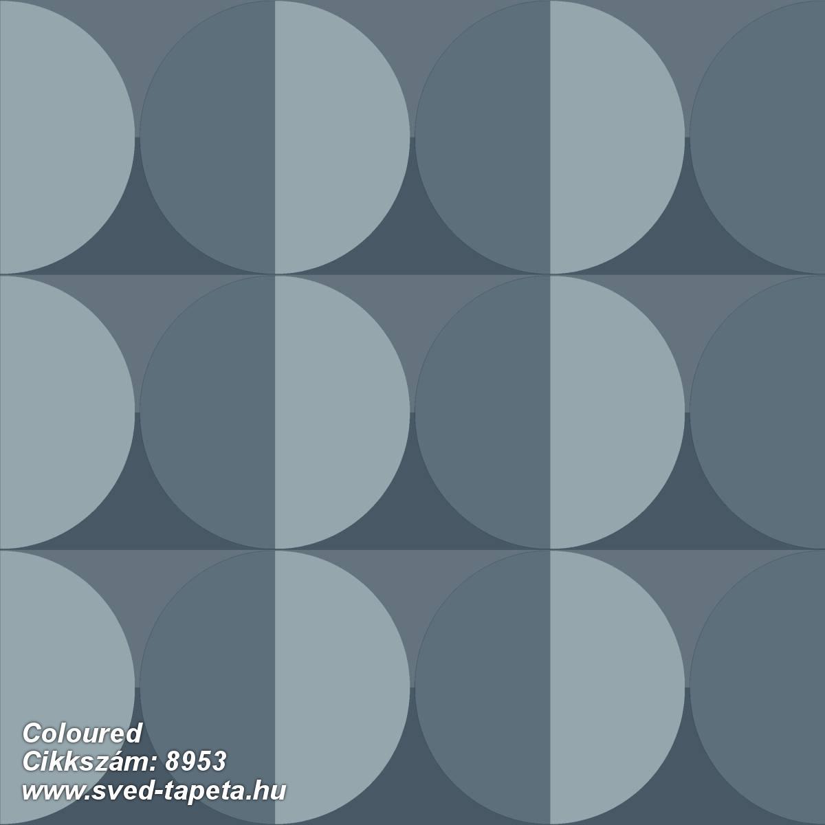 Coloured 8953 cikkszámú svéd ECOgyártmányú designtapéta