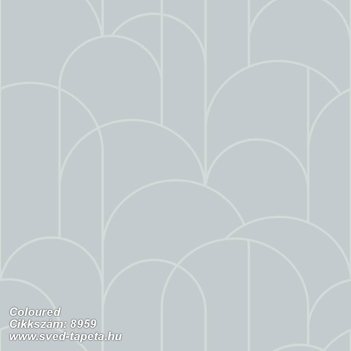 Coloured 8959 cikkszámú svéd ECOgyártmányú designtapéta