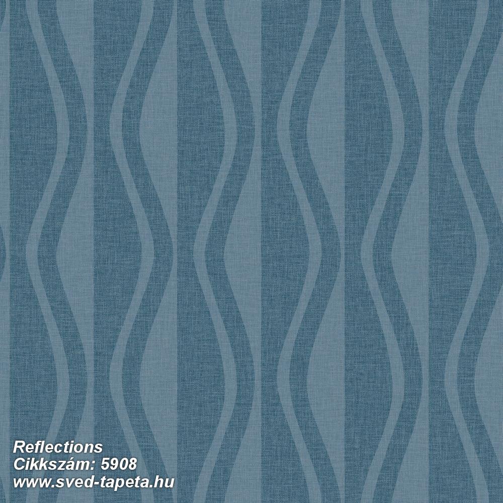 Reflections 5908 cikkszámú svéd ECOgyártmányú designtapéta