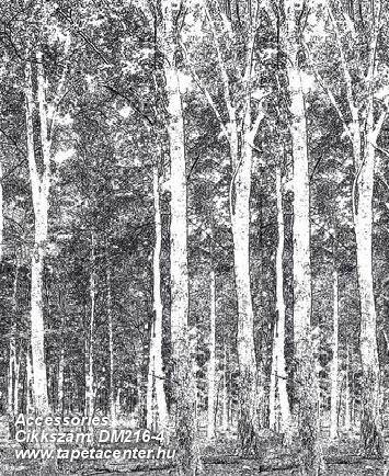 Absztrakt,fa hatású-fa mintás,különleges motívumos,rajzolt,retro,tájkép,természeti mintás,fehér,fekete,gyengén mosható,vlies poszter, fotótapéta