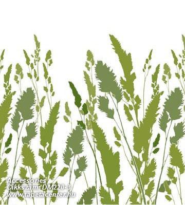 Gyerek,különleges motívumos,rajzolt,természeti mintás,fehér,zöld,gyengén mosható,vlies poszter, fotótapéta