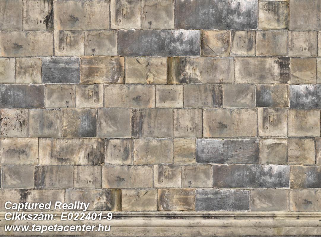 3d hatású,fotórealisztikus,geometriai mintás,kockás,kőhatású-kőmintás,különleges motívumos,retro,barna,bézs-drapp,szürke,vajszín,gyengén mosható,vlies poszter, fotótapéta