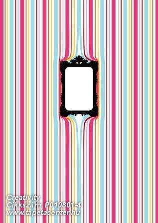 Csíkos,különleges motívumos,rajzolt,retro,kék,lila,piros-bordó,sárga,zöld,gyengén mosható,vlies poszter, fotótapéta