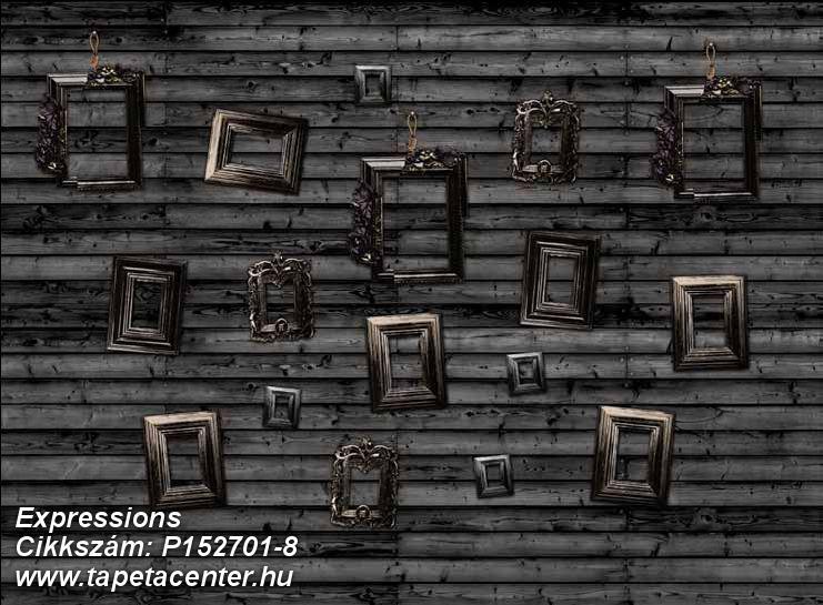 Fa hatású-fa mintás,fotórealisztikus,geometriai mintás,különleges motívumos,rajzolt,retro,barna,fehér,fekete,gyengén mosható,vlies poszter, fotótapéta