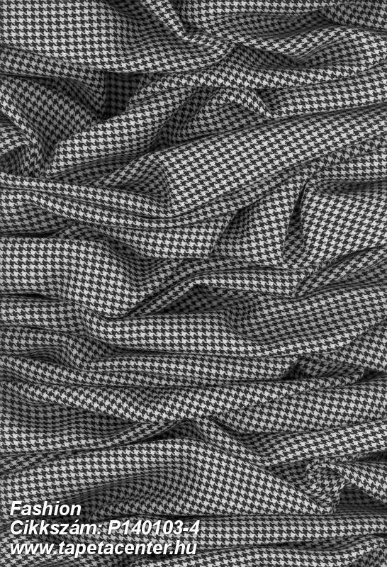 3d hatású,fotórealisztikus,geometriai mintás,különleges motívumos,textilmintás,fehér,fekete,gyengén mosható,vlies poszter, fotótapéta