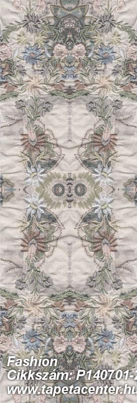 3d hatású,absztrakt,barokk-klasszikus,különleges motívumos,természeti mintás,textilmintás,virágmintás,barna,kék,szürke,gyengén mosható,vlies poszter, fotótapéta