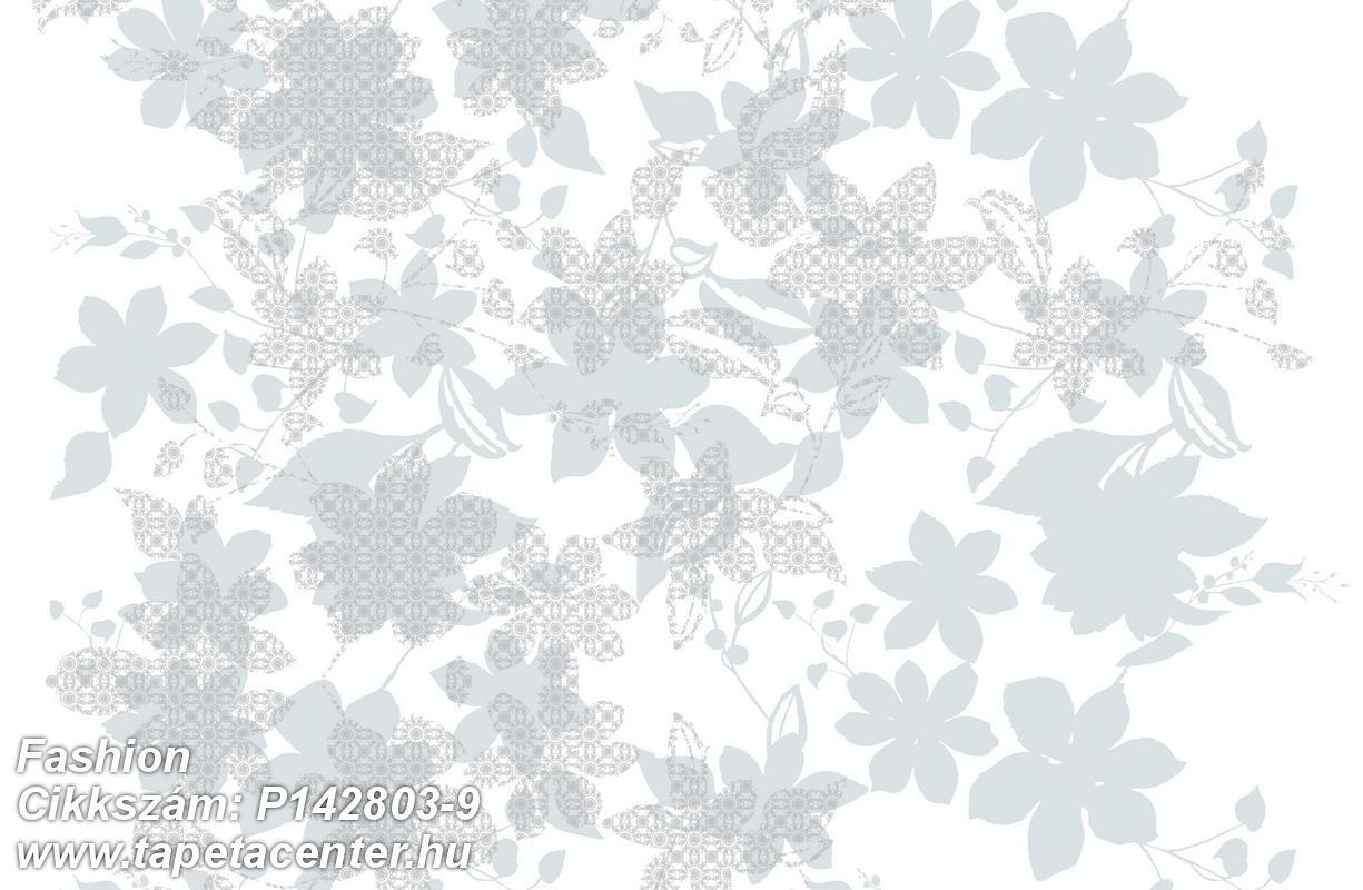 Absztrakt,rajzolt,természeti mintás,virágmintás,fehér,kék,szürke,gyengén mosható,vlies poszter, fotótapéta