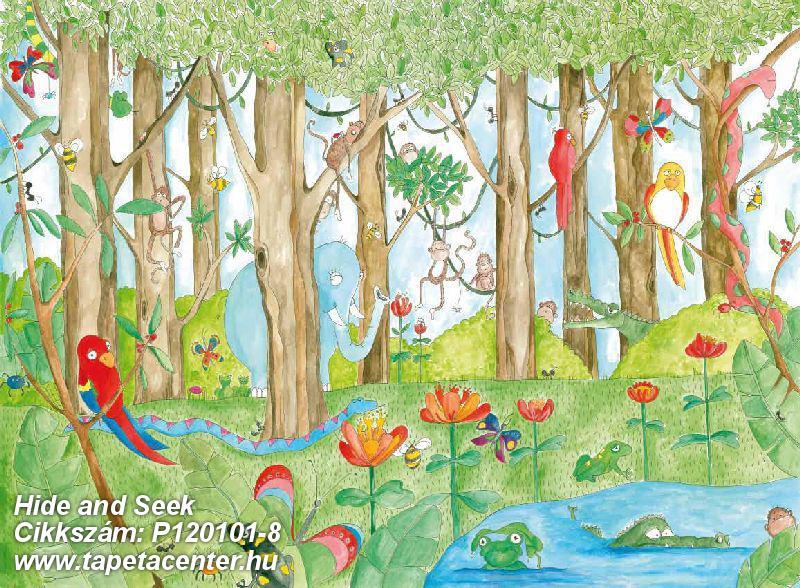 állatok,gyerek,különleges motívumos,rajzolt,tájkép,természeti mintás,barna,fehér,fekete,kék,piros-bordó,sárga,zöld,gyengén mosható,vlies poszter, fotótapéta