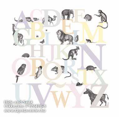 állatok,feliratos-számos,gyerek,rajzolt,retro,természeti mintás,lila,narancs-terrakotta,pink-rózsaszín,sárga,gyengén mosható,vlies poszter, fotótapéta