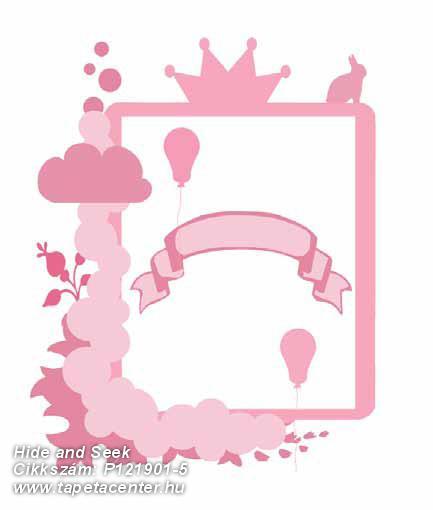 Geometriai mintás,gyerek,konyha-fürdőszobai,különleges motívumos,rajzolt,pink-rózsaszín,gyengén mosható,vlies poszter, fotótapéta