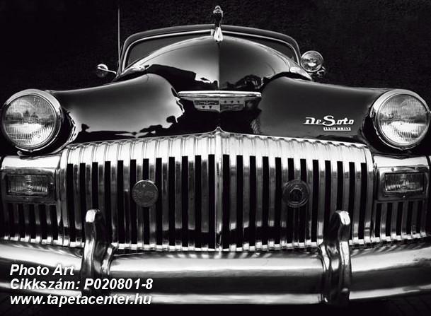 3d hatású,fotórealisztikus,retro,fekete,ezüst,fehér,gyengén mosható,vlies poszter, fotótapéta