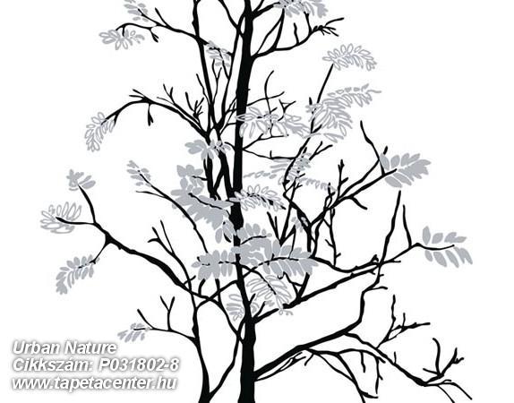 Fa hatású-fa mintás,gyerek,rajzolt,retro,természeti mintás,fehér,fekete,szürke,gyengén mosható,vlies poszter, fotótapéta