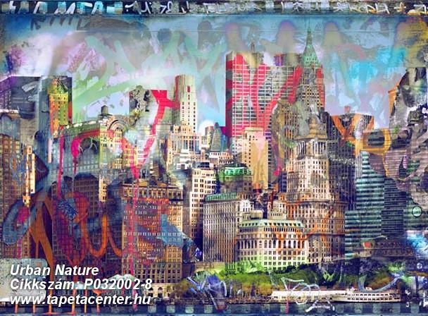 Fotórealisztikus,rajzolt,retro,tájkép,fekete,kék,piros-bordó,sárga,zöld,gyengén mosható,vlies poszter, fotótapéta