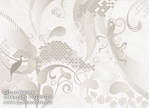 Absztrakt,különleges motívumos,rajzolt,retro,bézs-drapp,fehér,szürke,gyengén mosható,vlies poszter, fotótapéta